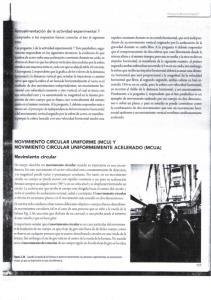 MOVIMIENTO CIRCULAR UNIFORME (MCU) Y MOVIMIENTO CIRCULAR UNIFORMEMENTE ACELERADO (MCUA) Movimiento circular. Grupo Editorial Patria