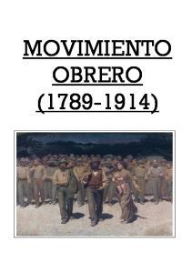 MOVIMIENTO OBRERO ( )