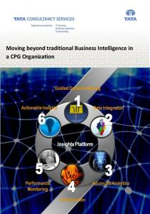 Moving beyond traditional Business Intelligence in a CPG Organization