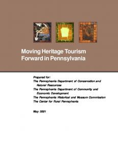 Moving Heritage Tourism Forward in Pennsylvania