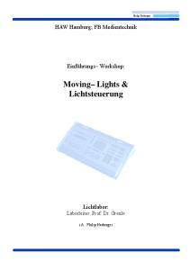 Moving Lights & Lichtsteuerung