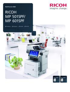 MP 601SPF MP 501SPF. ppm. ppm