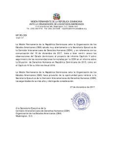 MP-RD-OEA de diciembre de 2017