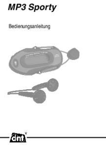 MP3 Sporty. Bedienungsanleitung