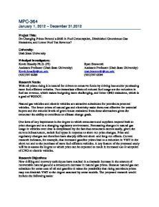 MPC-364 January 1, 2012 December 31,2012