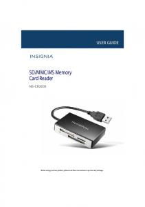 MS Memory Card Reader