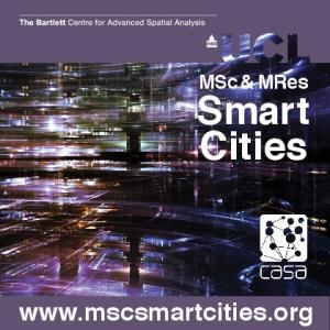 MSc & MRes. Smart Cities