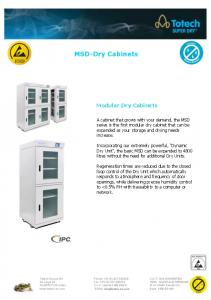 MSD-Dry Cabinets !!!!!!!!!!!!!!!!!!!!!!!!!!!!!!!!!!! Modular Dry Cabinets