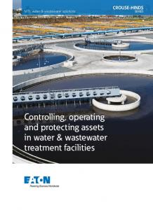 MTL water & wastewater solutions. Controlling, operating and protecting assets in water & wastewater treatment facilities