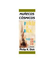 MUÑECOS CÓSMICOS. Philip K. Dick