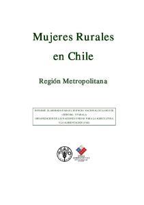 Mujeres Rurales en Chile