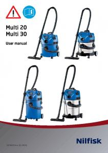 Multi 20 Multi 30. User manual e ( )