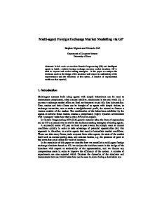 Multi-agent Foreign Exchange Market Modelling via GP
