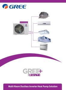 Multi-Room Ductless Inverter Heat Pump Solution