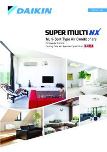 Multi-Split Type Air Conditioners