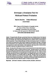 Multicast Protocol Evaluation
