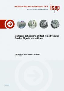 Multicore Scheduling of Real-Time Irregular Parallel Algorithms in Linux