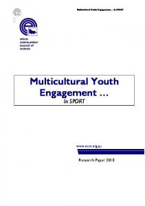 Multicultural Youth Engagement