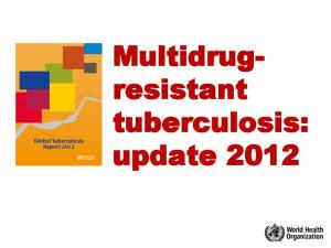 Multidrugresistant. tuberculosis: update 2012