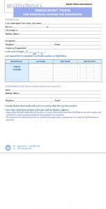 MULTINATIONALS ENROLMENT FORM FOR INDIVIDUAL SCHEME FOR EXPATRIATES INSURED (S):