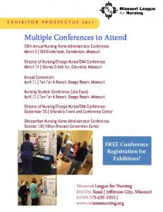 Multiple Conferences to Attend