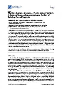 Multiple-Scenario Unmanned Aerial System Control: A Systems Engineering Approach and Review of Existing Control Methods