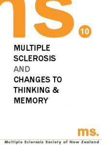 Multiple sclerosis and