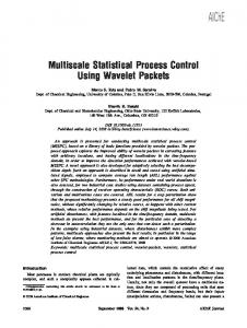Multiscale Statistical Process Control Using Wavelet Packets
