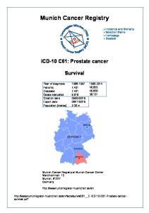 Munich Cancer Registry