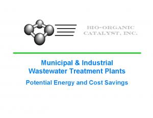 Municipal & Industrial Wastewater Treatment Plants