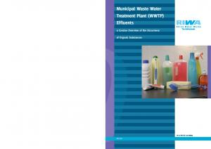 Municipal Waste Water Treatment Plant (WWTP) Effluents