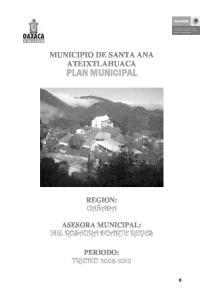 MUNICIPIO DE SANTA ANA ATEIXTLAHUACA
