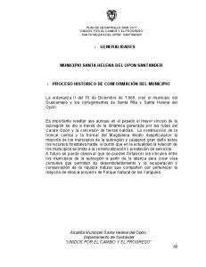 MUNICIPIO SANTA HELENA DEL OPON SANTANDER