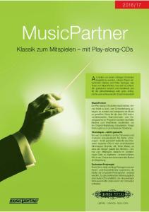 MusicPartner Klassik zum Mitspielen mit Play-along-CDs
