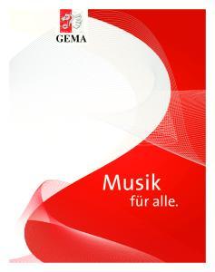 Musik. hat ihren Wert