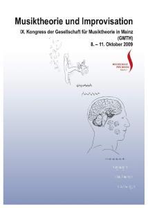 Musiktheorie und Improvisation Music Theory and Improvisation