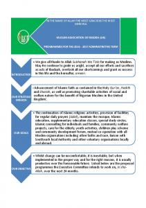 MUSLIM ASSOCIATION OF NIGERIA (UK)