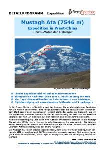 Mustagh Ata (7546 m)