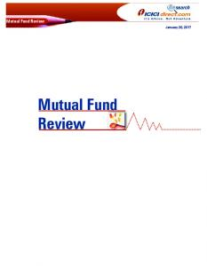 Mutual Fund Review. November 19, 2009 Mutual Fund. January 20, 2017