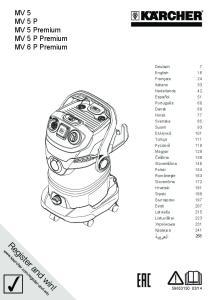 MV 5 MV 5 P MV 5 Premium MV 5 P Premium MV 6 P Premium