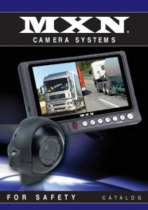 MXN CAMERA SYSTEMS CATALOG FOR SAFETY