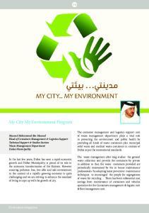 My City My Environment Program
