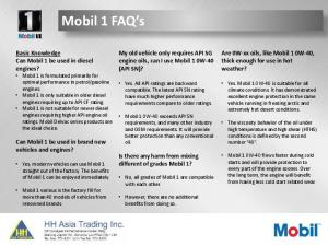 My old vehicle only requires API SG engine oils, can I use Mobil 1 0W-40 (API SN)?