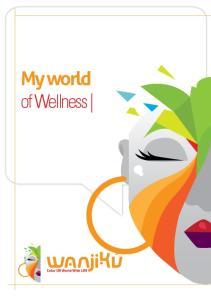My world of Wellness