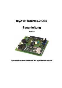 myavr Board 2.0 USB Bauanleitung