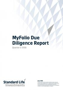 MyFolio Due Diligence Report