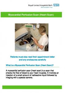 Myocardial Perfusion Scan (Heart Scan)