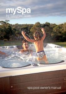 myspa by Sapphire Spas spa pool owner s manual