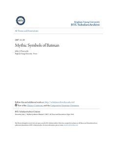 Mythic Symbols of Batman