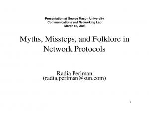 Myths, Missteps, and Folklore in Network Protocols